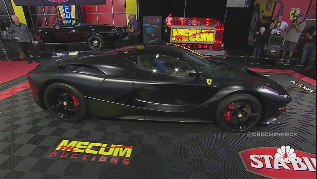 New York's Finest Address & The $3 Million Hybrid Ferrari